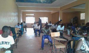 TULC students in Exam